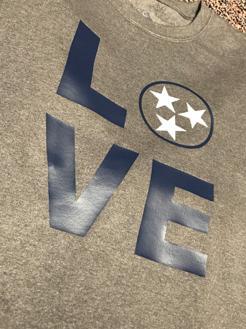 Tennessee LOVE Glitter Sweatshirt
