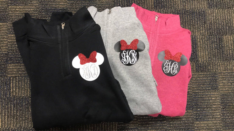 Disney Minnie Mouse Pull-Over Zip Up