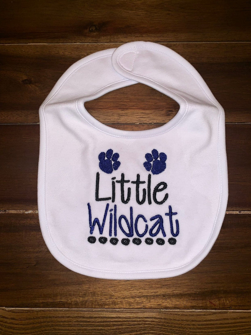 Little Wildcat Bib | Kentucky Wildcat Baby Bib  | UK Wildcat Baby Gift For Boy
