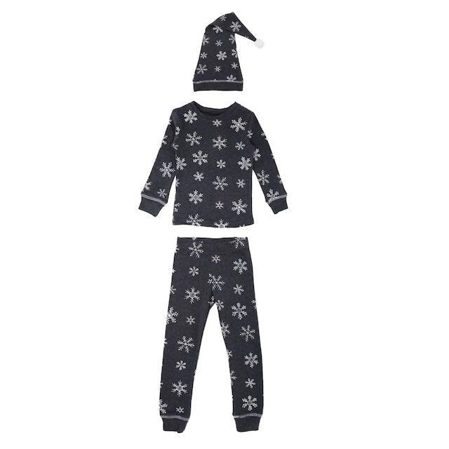Toddler Christmas Pajamas Set Frost Snowflake | Lovedbaby