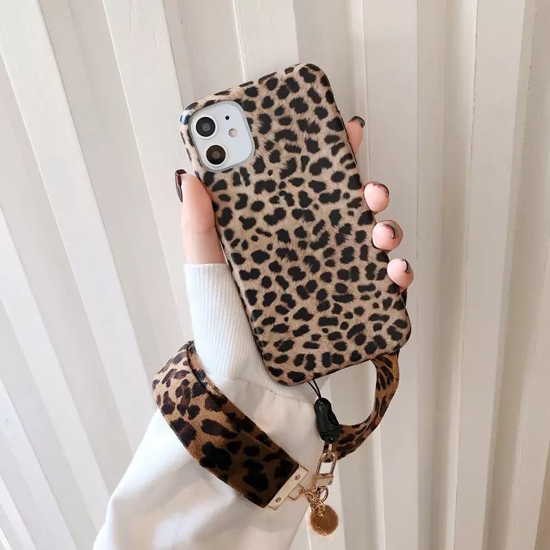 Gold Foil Leopard Cheetah iPhone Phone Case