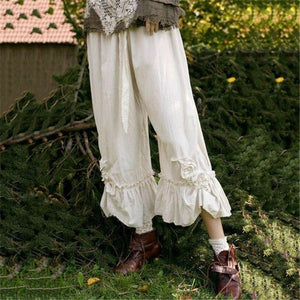 Casual Wide Leg Flared Pants