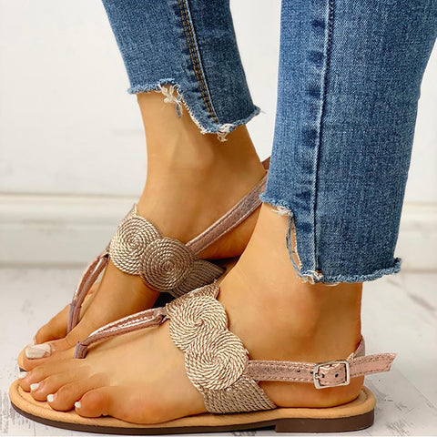 Women's fashion boho style flat sandals