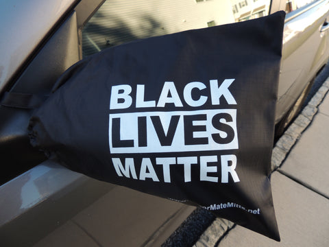 MMM-BLACK LIVES MATTERS-side view mirrror covermatter