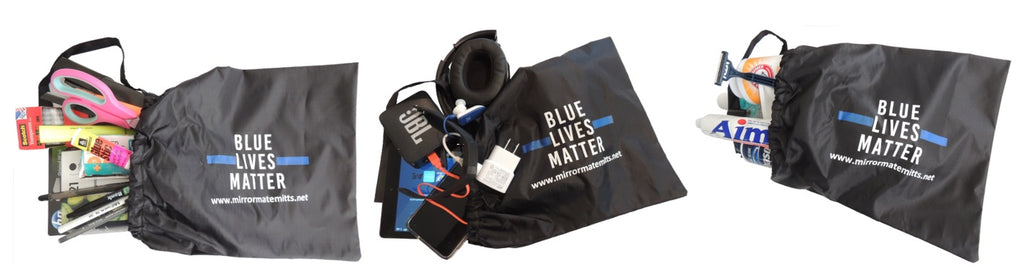 BLUE LIVES MATTER - side view mirror cover