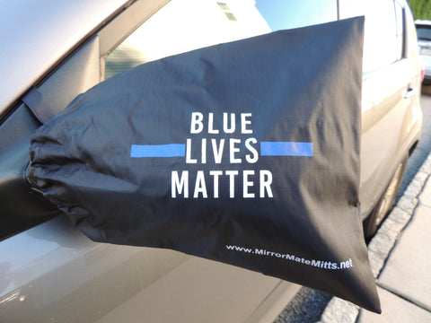 BLUE LIVES MATTER - side view mirorr cover