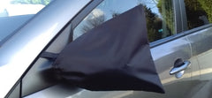 fabric side view mirror covers