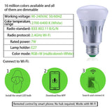 Smart LED Bulb Speaker 6W E27