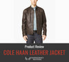 Cole Haan Leather Jacket Review