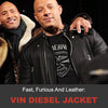 Fast, Furious and Leather: Vin Diesel Jacket