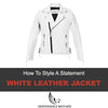 The White Leather Jacket