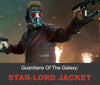 Guardians of the Galaxy: Star-Lord Inspired Leather Jacket