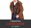 Leather Duster - How To Style A Statement Piece