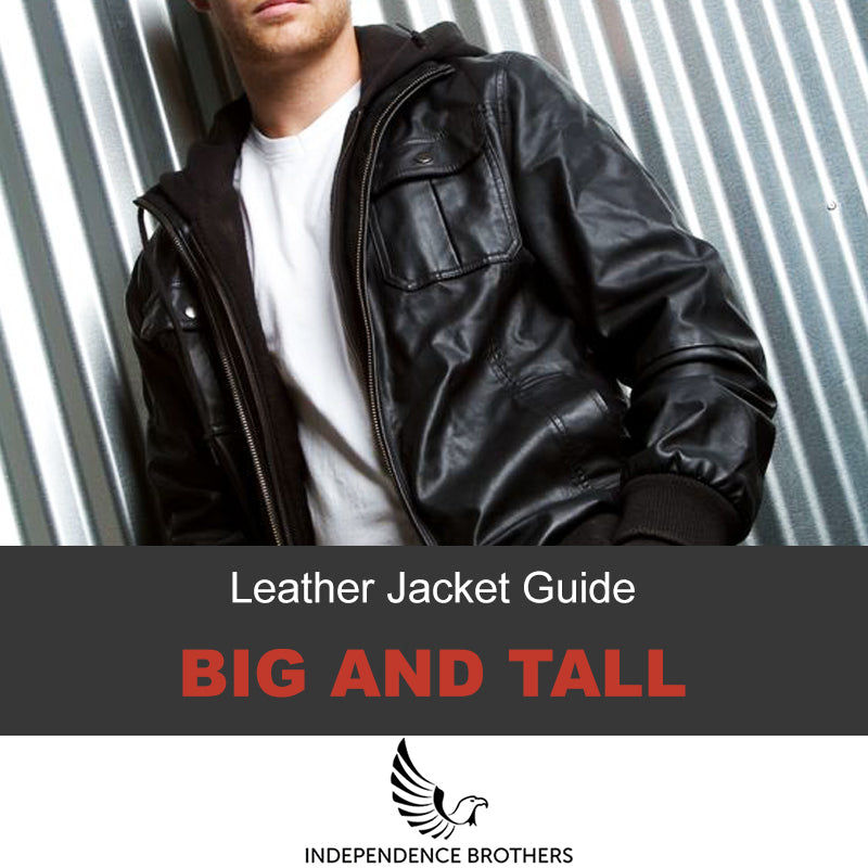 67e8eecd0 Big And Tall Leather Jackets For Big Guys - Easy Guide ...