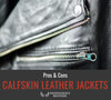 Calfskin Leather Jackets - Pros and Cons