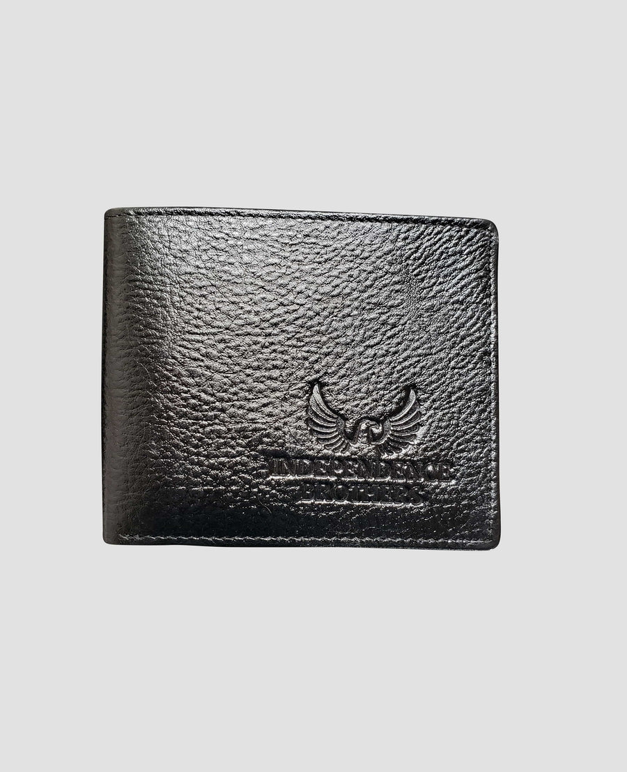 PHYSICAL - Bi-fold Slim Leather Wallet