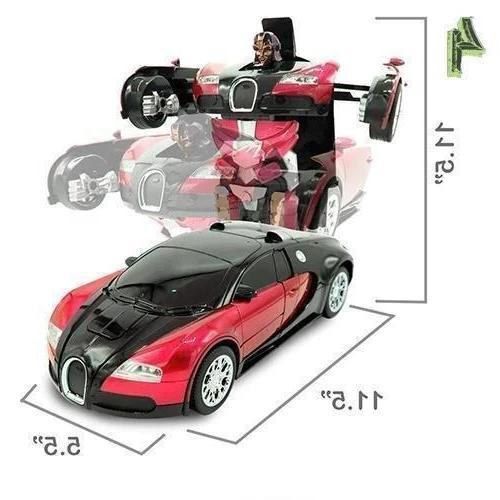 Best Gift Transformers Remote Control Deformation Car