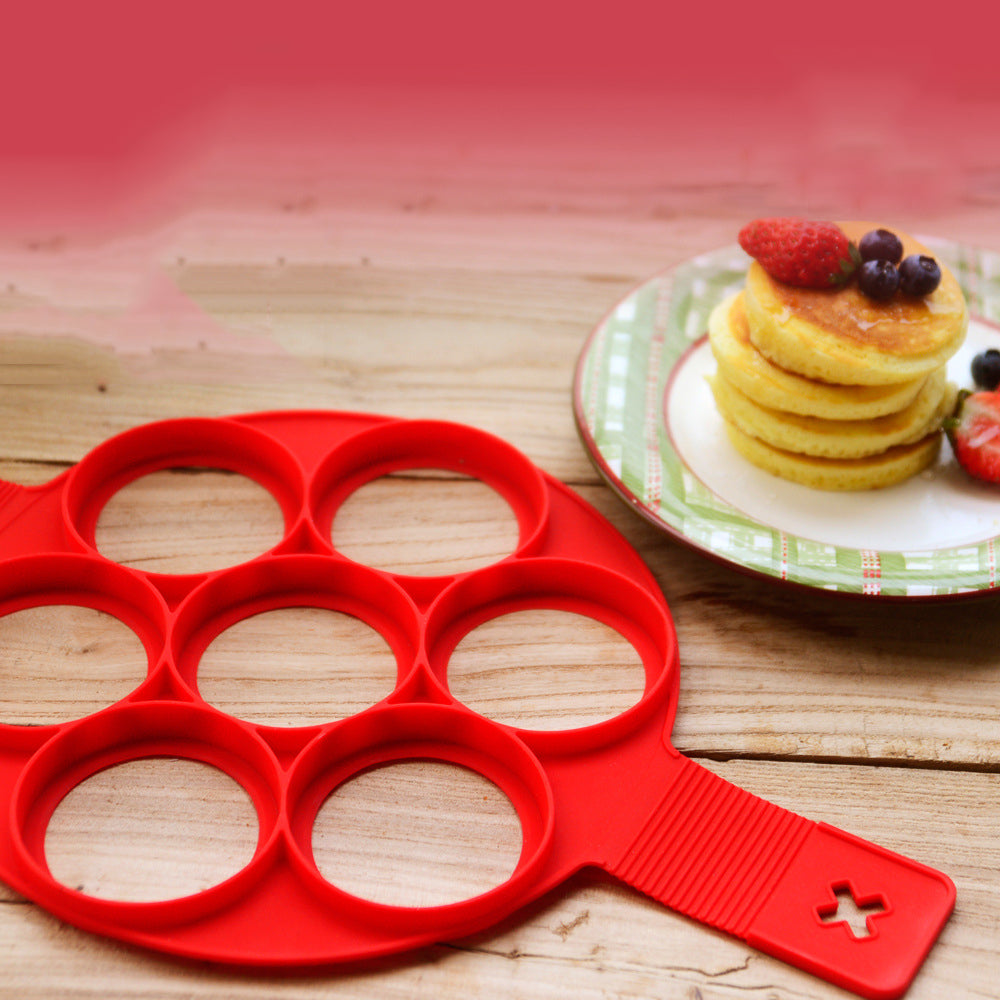 (BIG SALE, 50% OFF )Pancake Maker 7 Hole