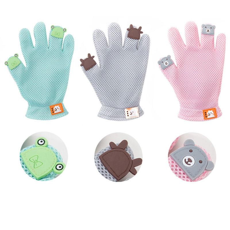 Pet Grooming Glove-Rubber Foat Gloves