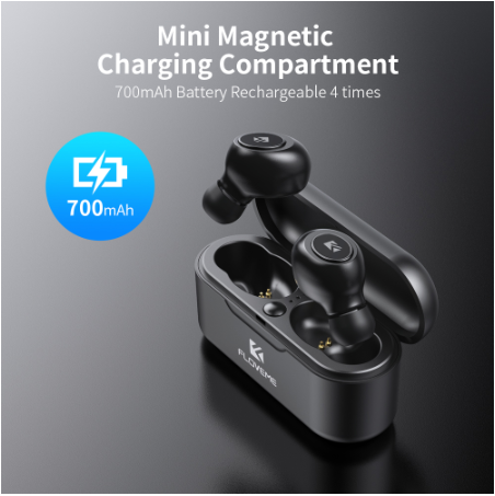 Earphones Sport Bluetooth Headset Wireless Earbuds Charging Box