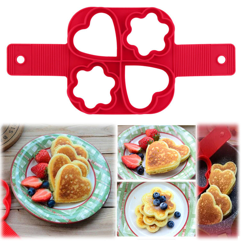 (New Year Big Sales, 50% OFF)Pancake Maker 4 Hole