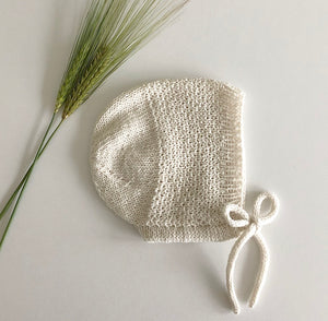 New - Wheat bonnet