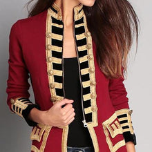Load image into Gallery viewer, Fashion Long Sleeve Pure Colour Splicing Little Suit