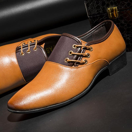 Classic Business Dress Leather Shoes