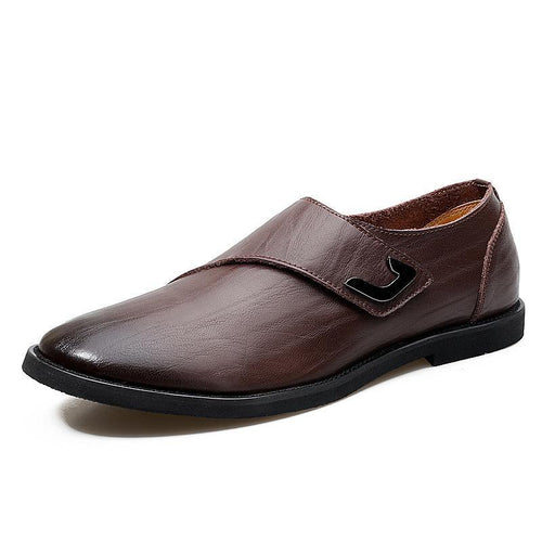Leather British tide breathable leather business men's shoes