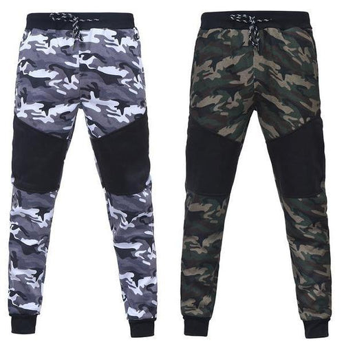 Camo Patchwork Pants