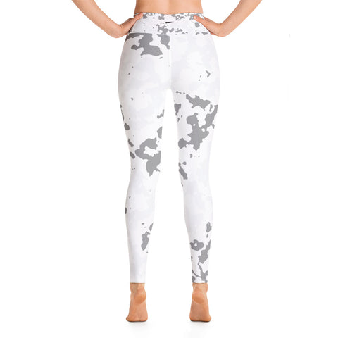 Live In The Movement High Rise | White Camo