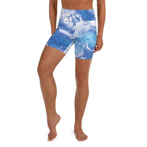 Live In The Movement Shorts | Ocean Blue