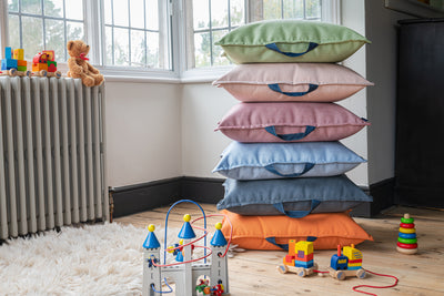 Children's bean bag floor cushions