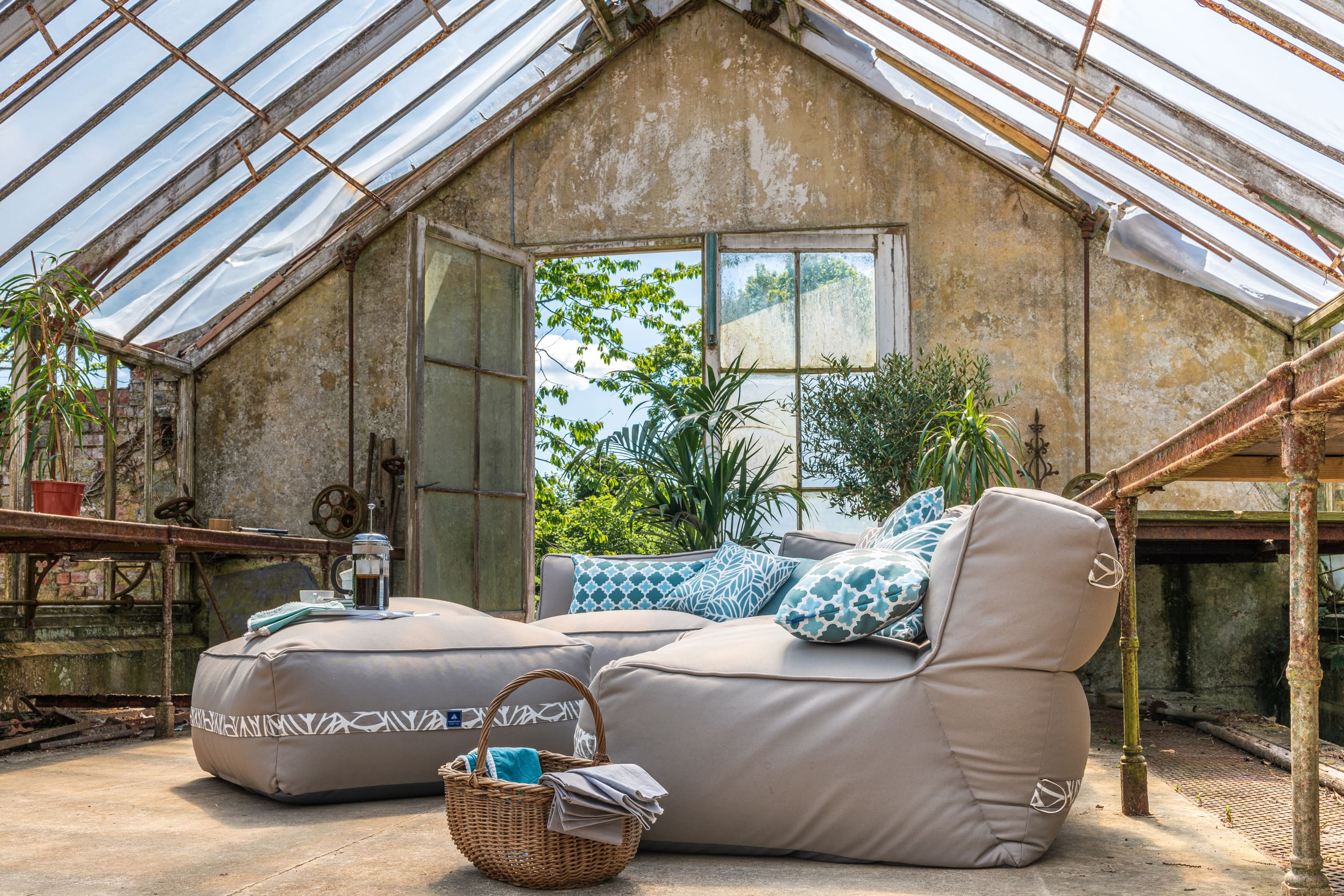 Garden Furniture Trends 2020 - including bean bag chairs