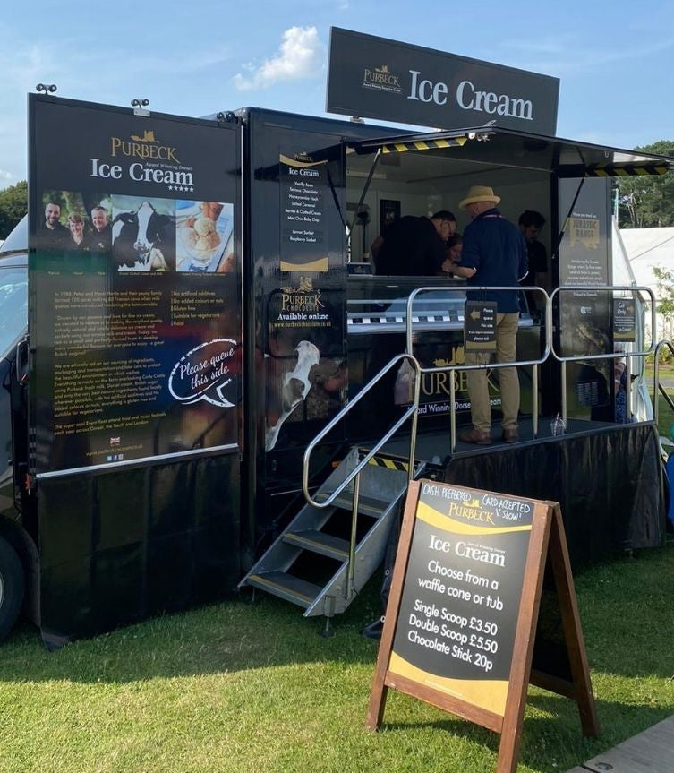 Purbeck Ice Cream, Real Dairy Ice Cream from Dorset.