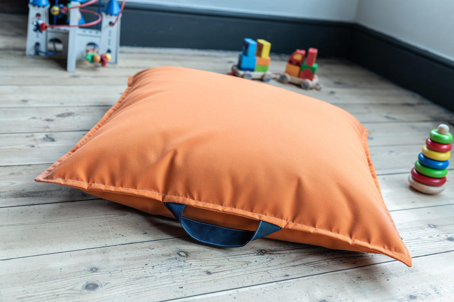 Children's Floor cushion in Orange