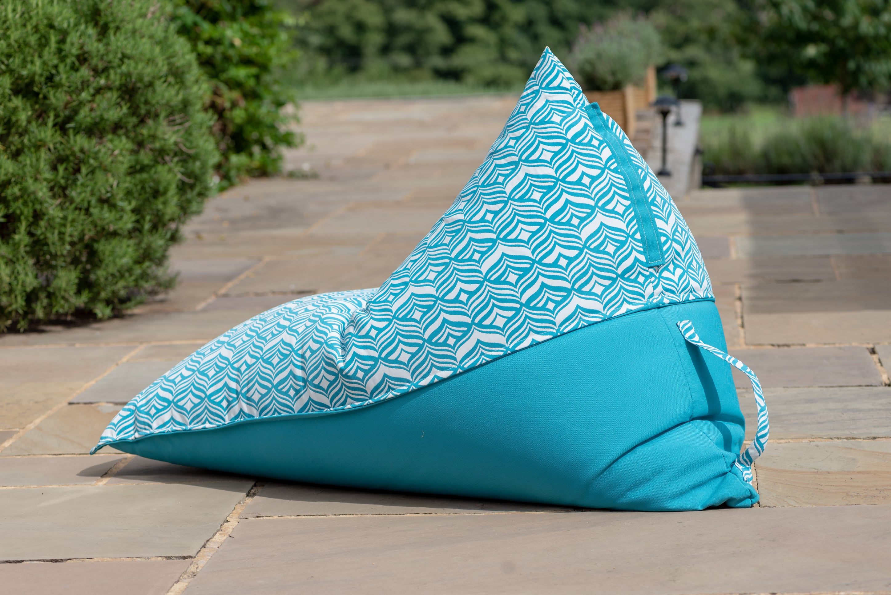 Adult Bean Bag Chair in Tulip Turquoise