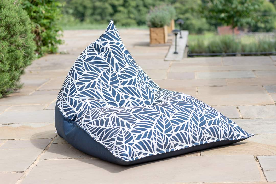 Indoor / Outdoor Bean Bag Chair - Patterned