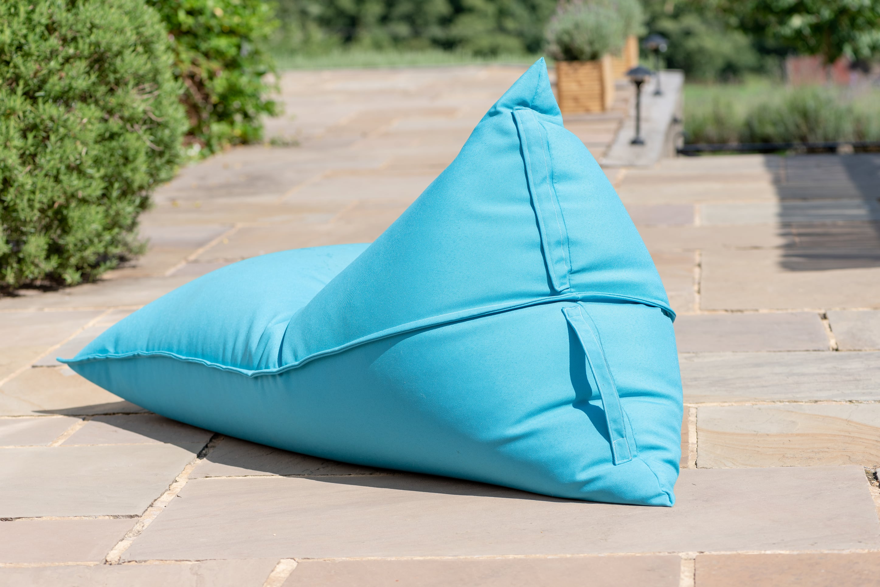 Bean Bag Lounger in Turquoise Bean Bag Lounger armadillosun