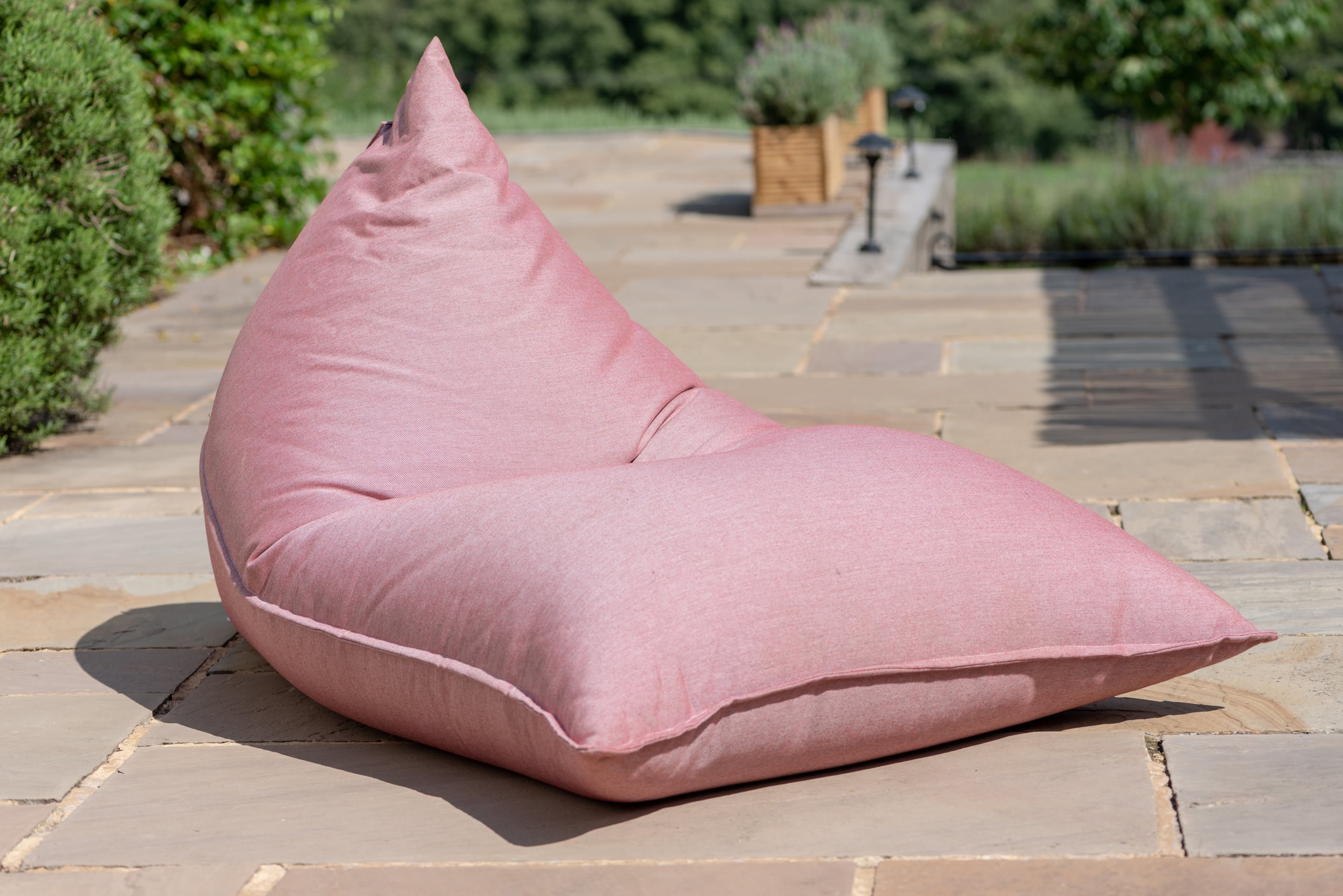 Adult Beanbag Chair in Cuba Ruby