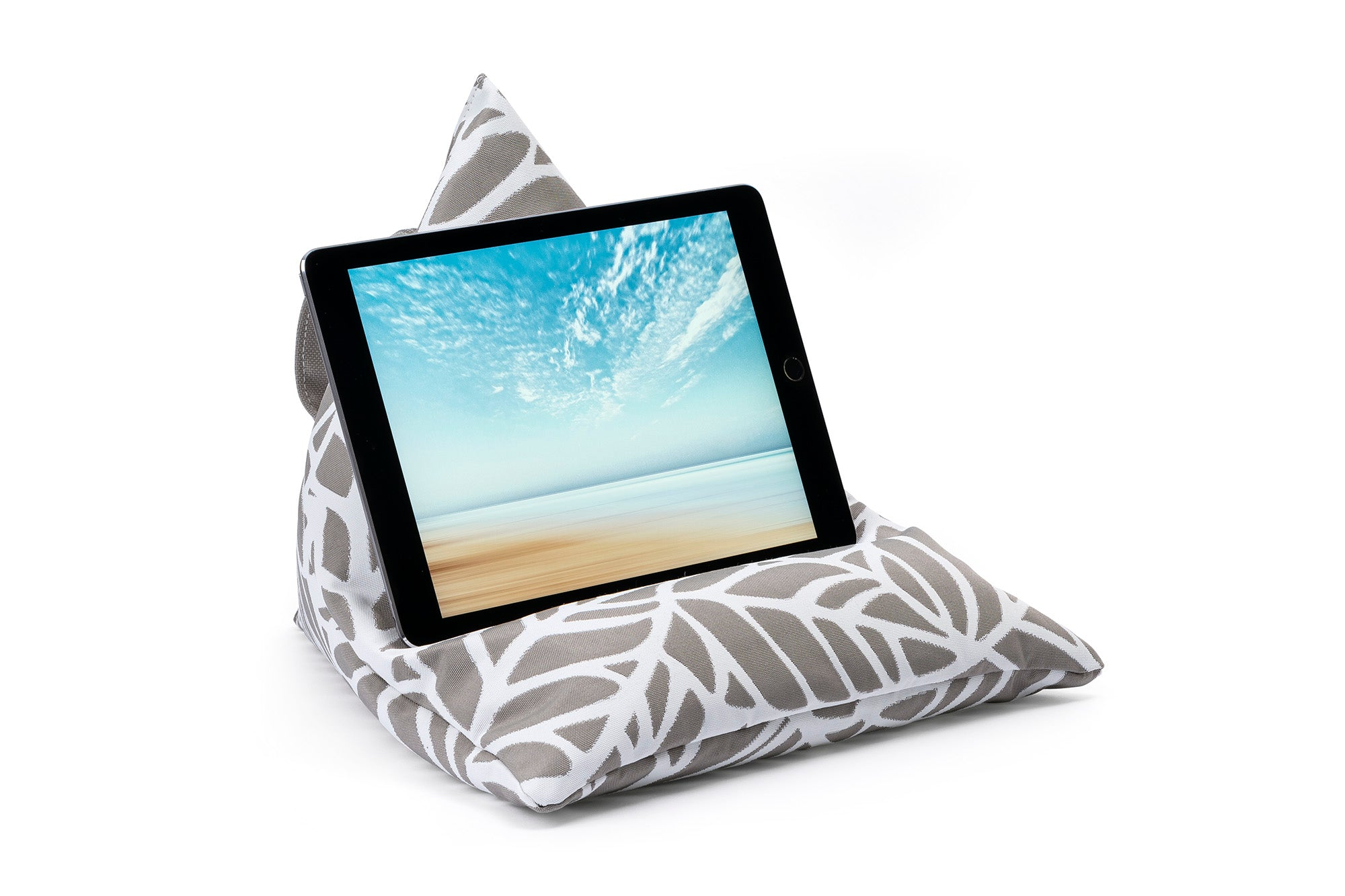 iPad, Tablet & eReader Bean Bag Stand in Palm Pumice armadillosun