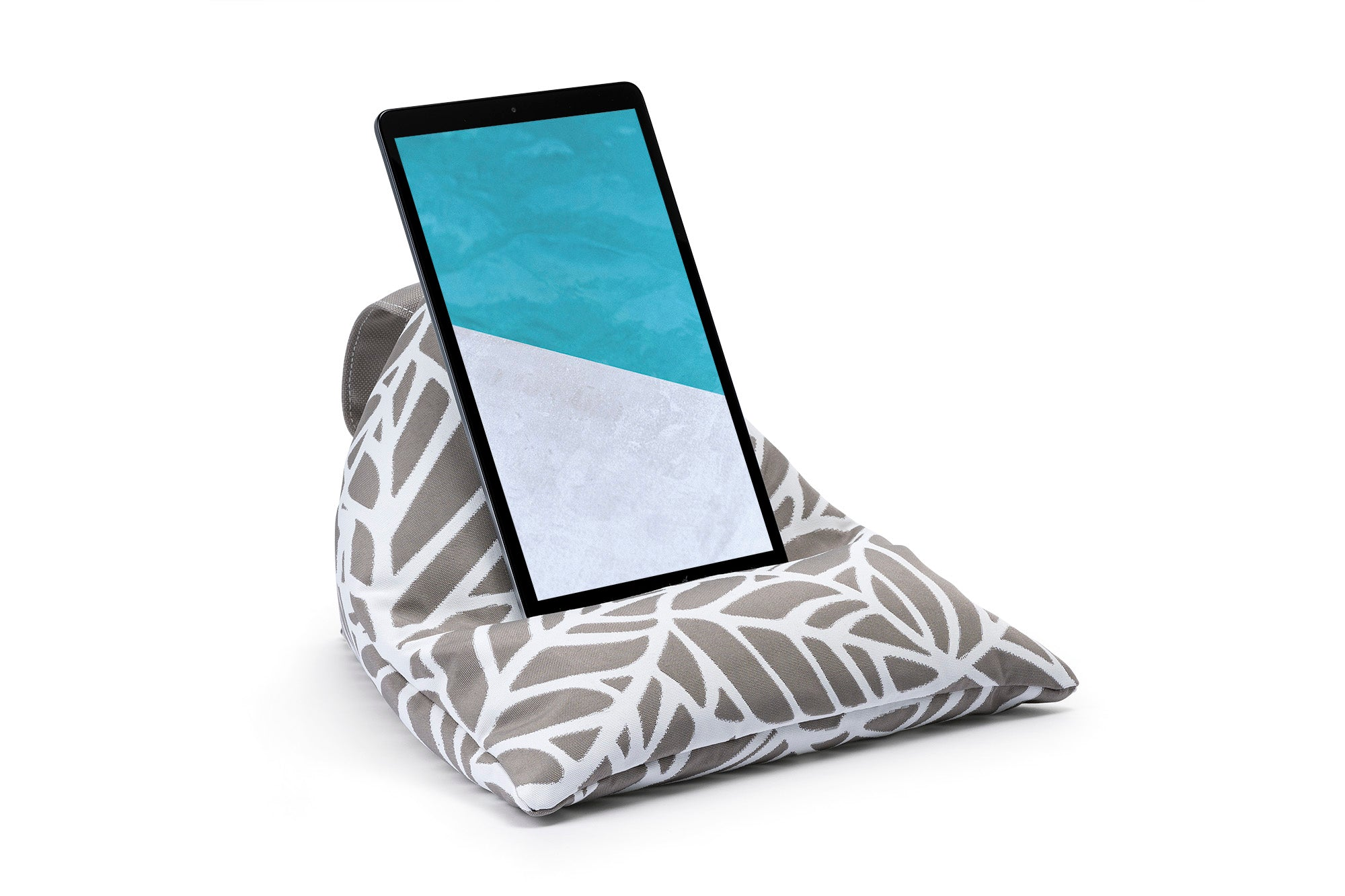 iPad, Tablet & eReader Bean Bag Stand in Palm Pumice