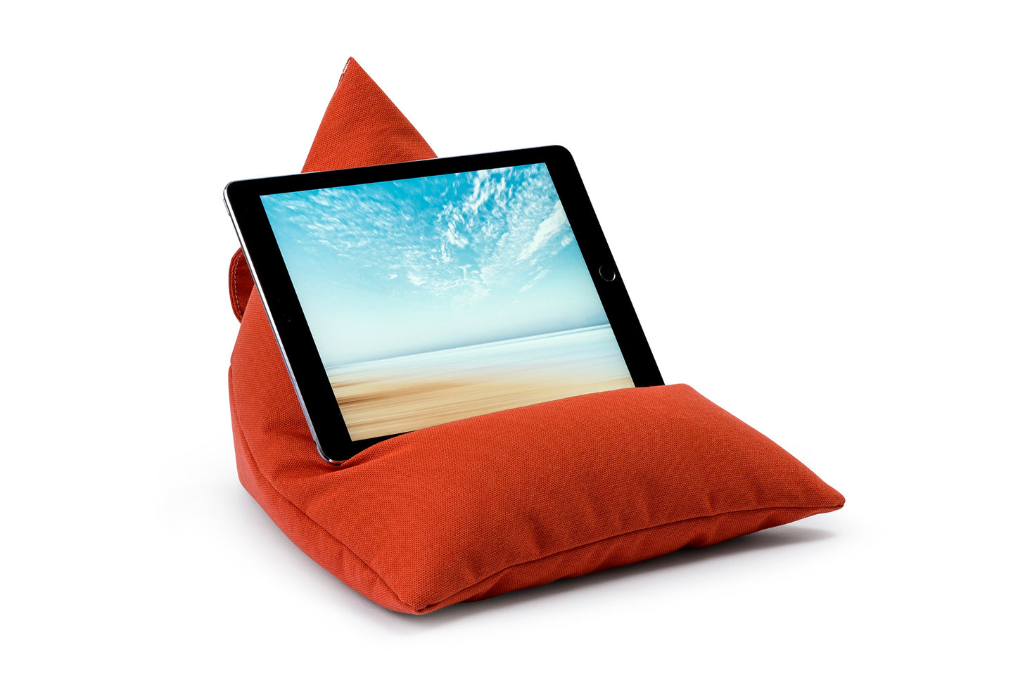 iPad, Tablet & eReader Bean Bag Stand in Paprika armadillosun