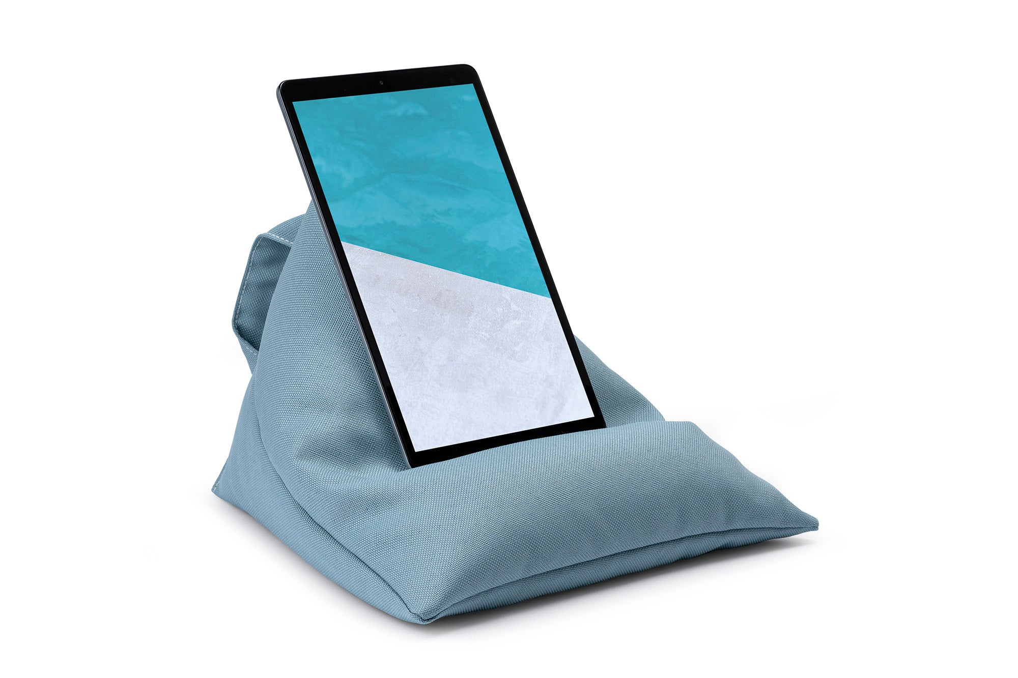 iPad, Tablet & eReader Bean Bag Stand in Plain Ocean