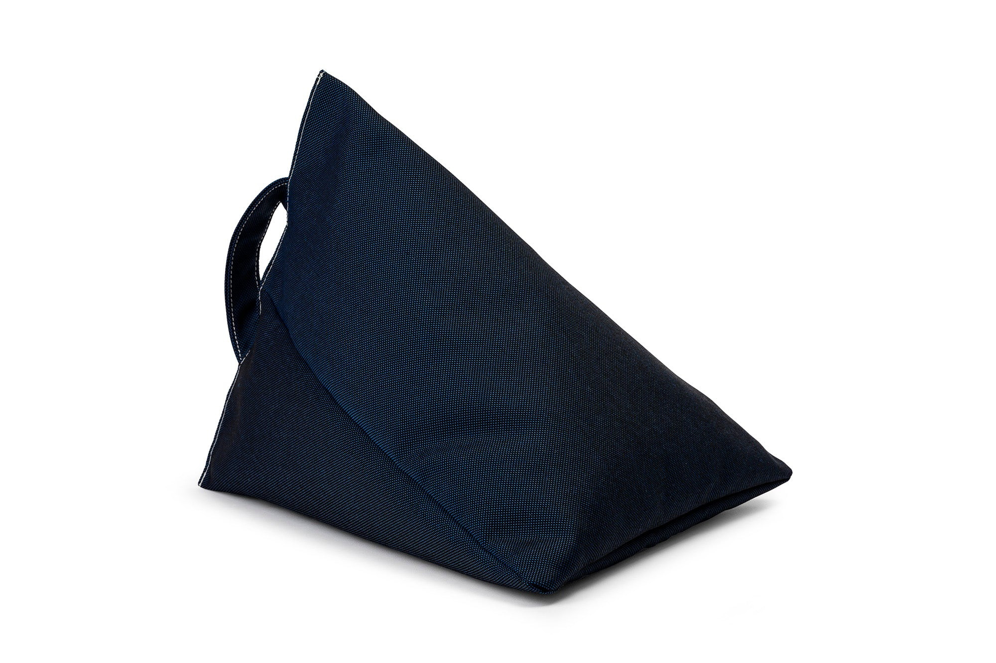 iPad, Tablet & eReader Bean Bag Stand in Plain Navy