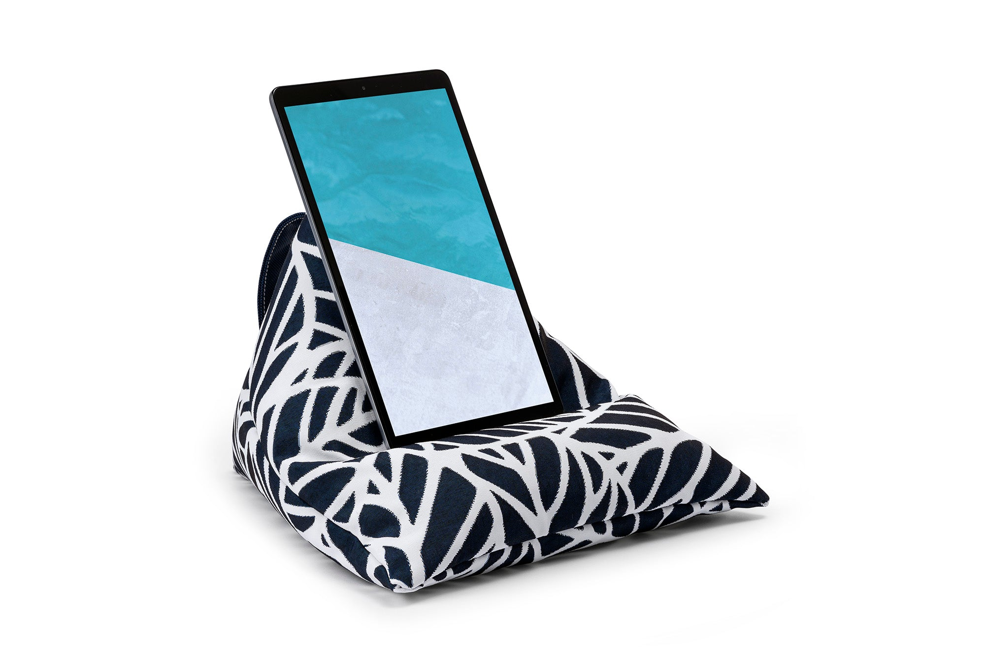 iPad, Tablet & eReader Bean Bag Stand in Palm Navy