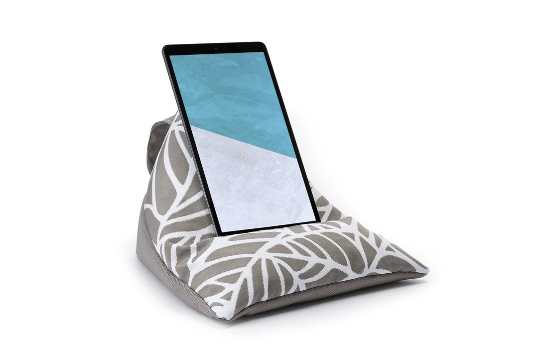 iPad, Tablet & eReader Bean Bag Stand - Two Tone Patterned