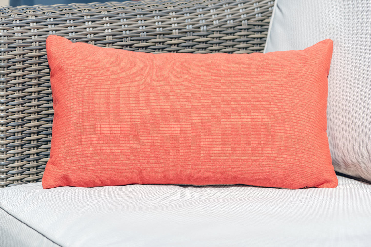 Luxury Cushion in Paprika
