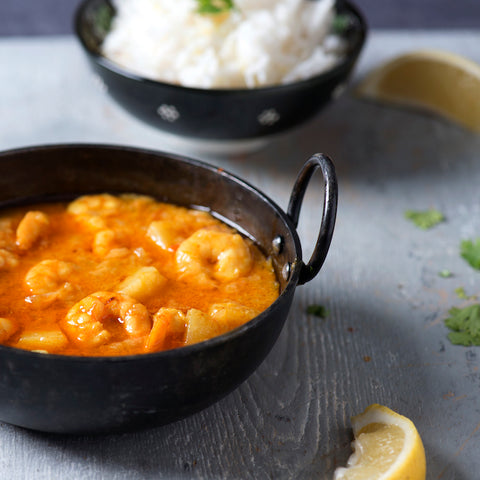 Bang Curry Coconut Prawn Balti Recipes