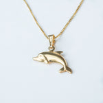 Load image into Gallery viewer, Flipper Gold Pendant